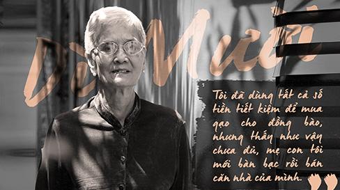 Nữ cựu tù Côn Đảo bán nhà làm từ thiện