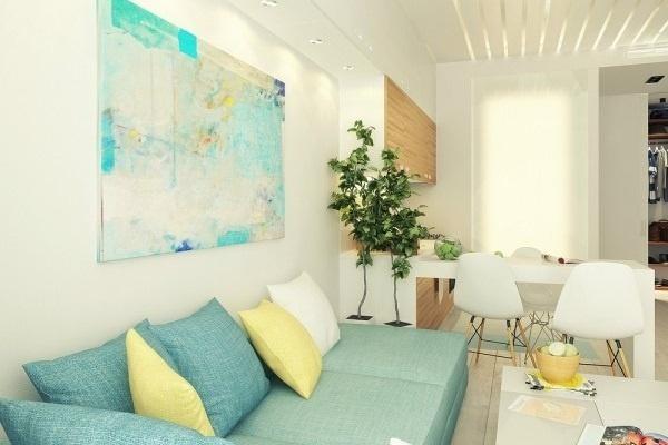 phong thủy, phòng khách, trang trí nhà
