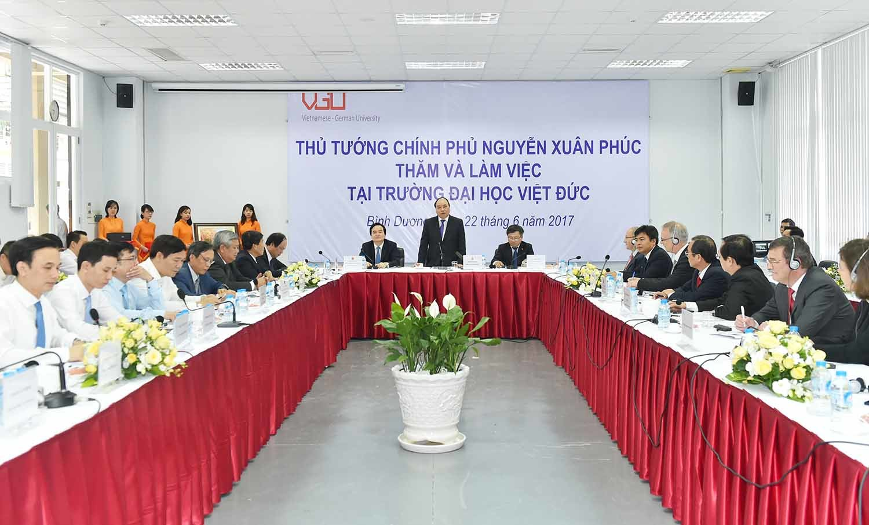 Thủ tướng mong muốn đưa kỹ nghệ bậc cao của Đức vào Việt Nam