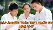 Lời giải tham khảo môn toán mã đề 108 tốt nghiệp THPT quốc gia 2017