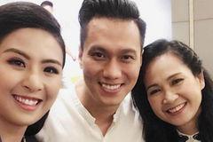 HH Ngọc Hân hội ngộ NSND Lan Hương, Việt Anh 'Người phán xử'