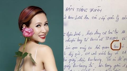 Ca sĩ Uyên Linh tức giận vì mất đồ gần 100 triệu tại sân bay