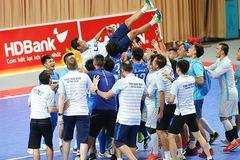 Thái Sơn Nam tiếp tục xưng vương VĐQG Futsal 2017