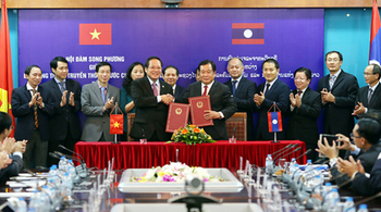 Việt Nam sẵn sàng hỗ trợ Lào phát triển CNTT, bưu chính, viễn thông