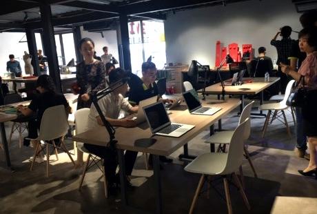 Không gian sáng tạo cho cộng đồng khởi nghiệp tại Hà Nội