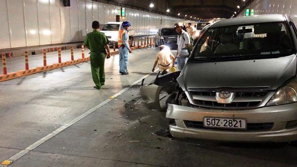 tai nạn, tai nạn giao thông, hầm Thủ Thiêm