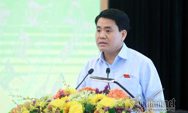 Chủ tịch Nguyễn Đức Chung: HN nóng lịch sử có nguyên nhân cây xanh