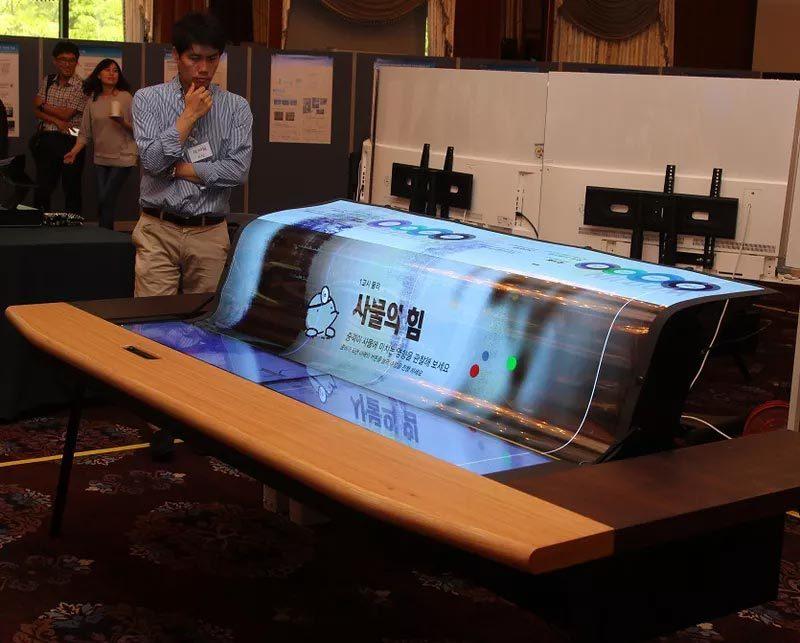 màn hình OLED, màn hình uốn dẻo, LG, sản phẩm mới