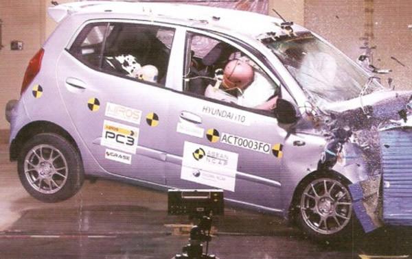an toàn, va chạm, phá xe, ô tô Huyndai, ô tô Hàn, ô tô Nhật, Toyota