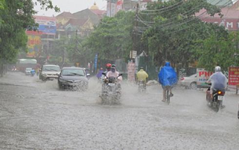 Dự báo thời tiết 24/6: Chiều tối Hà Nội mưa rào