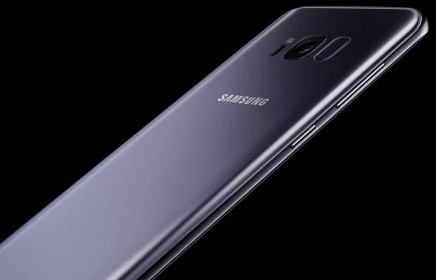 Galaxy S8+, màu tím khói,