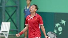 Hoàng Nam xuất sắc vô địch giải quần vợt nhà nghề Thái Lan