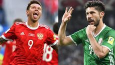 Link xem trực tiếp Nga vs Mexico, 22h ngày 24/6