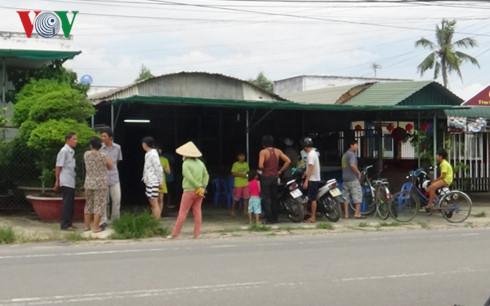 Công an Khánh Hòa về Bình Thuận khám nhà nghi can bắn chết người