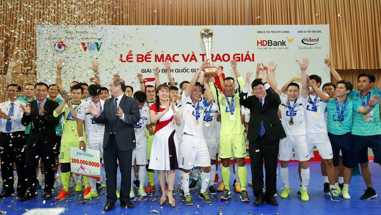 futsal Việt Nam, giải VĐQG Futsal 2017, Thái Sơn Nam