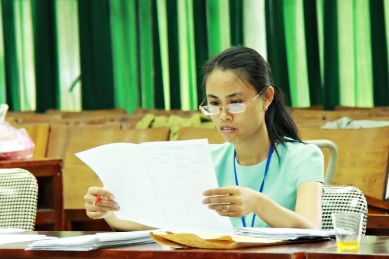 Bài thi THPT quốc gia sẽ được chấm như thế nào?