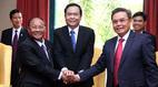 Khai mạc hội nghị Chủ tịch Mặt trận 3 nước Campuchia – Lào – Việt Nam