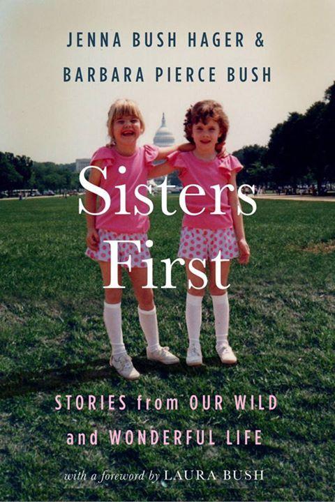 Chị em nhà Bush lần đầu tiên cùng nhau viết tự truyện