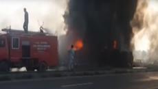 Cháy xe chở dầu, hơn 100 người thiệt mạng vì 'hôi của'