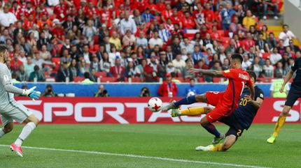 Video bàn thắng Chile 1-1 Australia