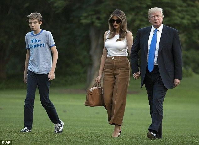 Melania Trump,Đệ nhất phu nhân Mỹ,Donald Trump,Nhà Trắng