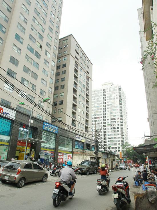 chung cư, chung cư Hà Nội, quy hoạch đô thị, giấy phép xây dựng