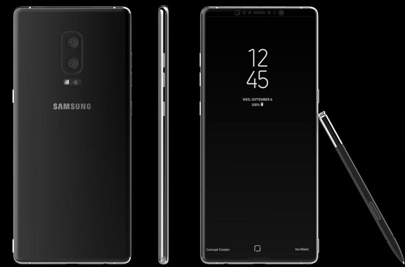 Galaxy Note 8, Samsung, Galaxy Note 7, iPhone 8, smartphone