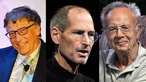 'Bill Gates, Steve Jobs không dấn thân chỉ vì tiền'