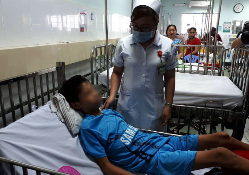 bệnh viện nhi đồng 1,dị vật,bé trai