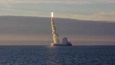Tàu ngầm Nga phóng tên lửa liên lục địa xuyên Á-Âu
