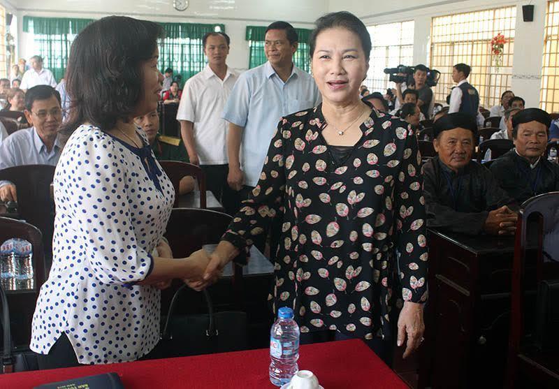 Chủ tịch Quốc hội,Nguyễn Thị Kim Ngân,tiếp xúc cử tri
