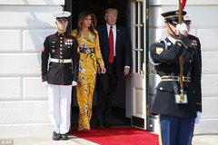 Bà Trump rực rỡ trong chiếc váy 50 triệu
