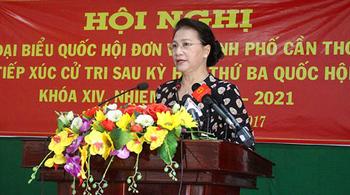 Chủ tịch QH: Đừng thấy vụ lẻ tẻ nhìn đất nước không an toàn