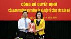 Giám đốc Sở KH&ĐT làm Chánh Văn phòng Thành ủy Hà Nội