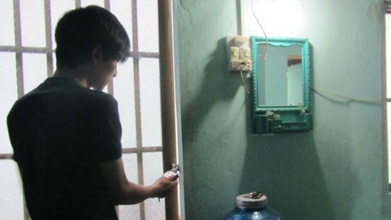 Giả nhân viên sửa ống nước để trộm 340 triệu
