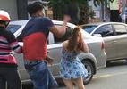 Công an truy tìm thanh niên đánh cô gái sau va chạm giao thông
