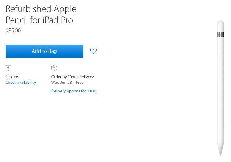 Apple bắt đầu bán bút cảm ứng tân trang giá rẻ