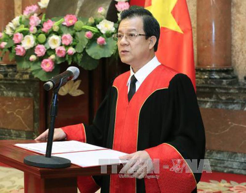 Phó bí thư Tiền Giang giữ chức Phó chánh án TANDTC