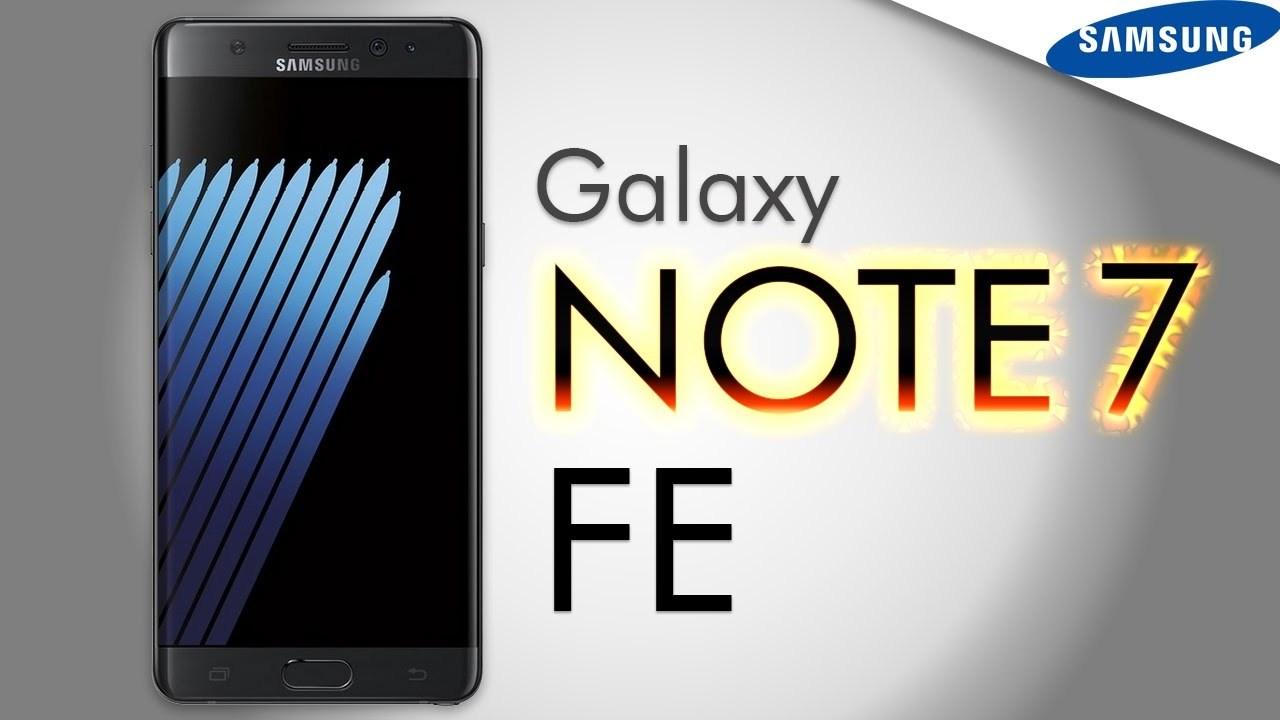Đã có ngày bán của Galaxy Note 7 tân trang