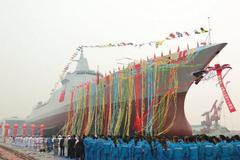 Trung Quốc hạ thủy tàu khu trục thế hệ mới