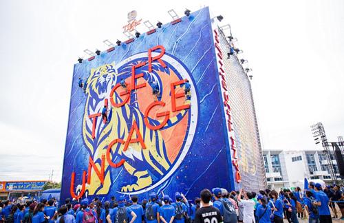 Bức tường Tiger 'đổ bộ' Bình Dương