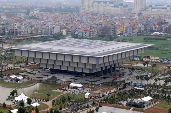 Bảo tàng Hà Nội, công trình kỷ niệm 1000 năm Thăng Long Hà Nội, Tổng công ty 36