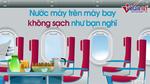Sao tiếp viên không uống nước được phục vụ trên máy bay?