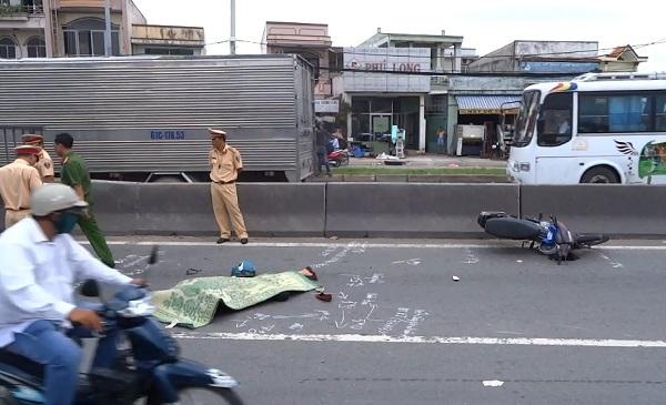 tai nạn, tai nạn giao thông, cầu An Sương, tai nạn chết người