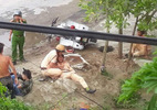 Đâm trọng thương CSGT bằng xe máy tang vật vụ trộm
