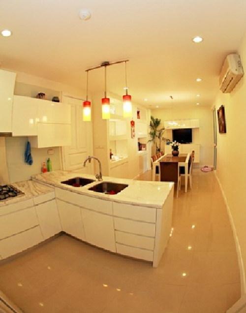 phòng bếp, phong thủy phòng bếp, mẫu phòng bếp đẹp, sao Việt