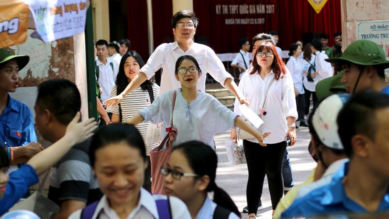 thí sinh,đăng ký nguyện vọng,tuyển sinh đại học 2017,thi thpt 2017