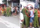 3 thanh niên vi phạm giao thông lao vào đánh công an