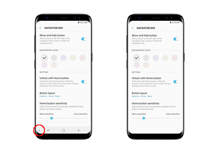 thủ thuật,sử dụng,giao diện,Galaxy S8,S8+