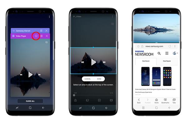 Thủ thuật trải nghiệm giao diện tiện dụng của Galaxy S8/S8+